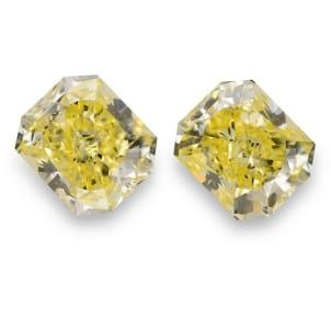 Камень без оправы, бриллиант Цвет: Желтый, Вес: 12.61 карат