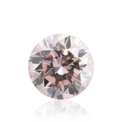 Камень без оправы, бриллиант Цвет: Розовый, Вес: 0.20 карат