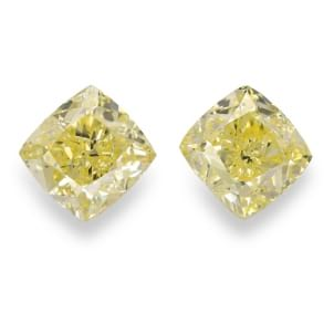 Камень без оправы, бриллиант Цвет: Желтый, Вес: 4.02 карат