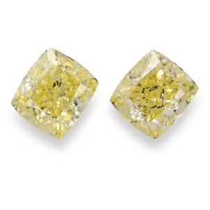 Камень без оправы, бриллиант Цвет: Желтый, Вес: 3.11 карат