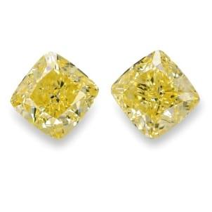 Камень без оправы, бриллиант Цвет: Желтый, Вес: 3.02 карат