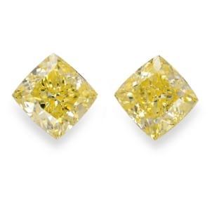 Камень без оправы, бриллиант Цвет: Желтый, Вес: 4.00 карат