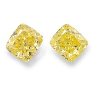 Камень без оправы, бриллиант Цвет: Желтый, Вес: 2.57 карат