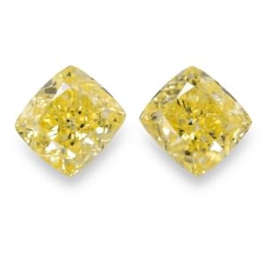 Камень без оправы, бриллиант Цвет: Желтый, Вес: 2.43 карат