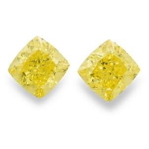 Камень без оправы, бриллиант Цвет: Желтый, Вес: 2.23 карат