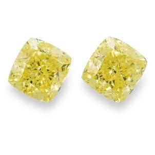 Камень без оправы, бриллиант Цвет: Желтый, Вес: 2.04 карат