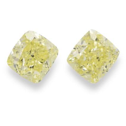 Камень без оправы, бриллиант Цвет: Желтый, Вес: 2.00 карат