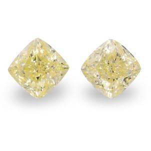 Камень без оправы, бриллиант Цвет: Желтый, Вес: 5.08 карат