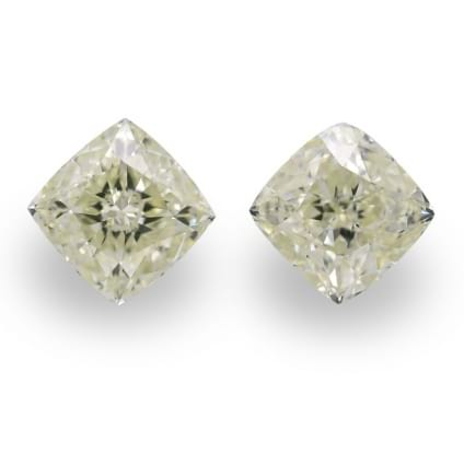 Камень без оправы, бриллиант Цвет: Желтый, Вес: 1.61 карат