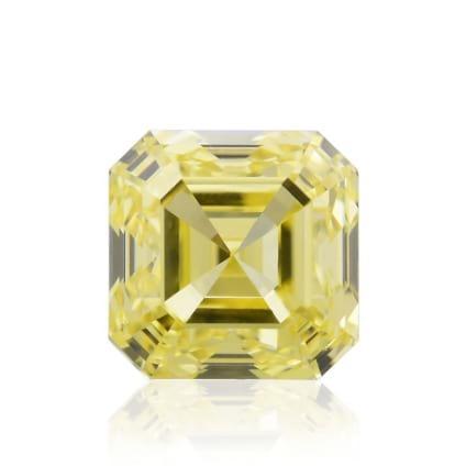 Камень без оправы, бриллиант Цвет: Желтый, Вес: 0.66 карат
