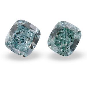 Камень без оправы, бриллиант Цвет: Зеленый, Вес: 0.41 карат
