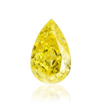 Камень без оправы, бриллиант Цвет: Желтый, Вес: 0.62 карат