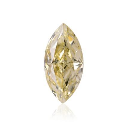 Камень без оправы, бриллиант Цвет: Желтый, Вес: 1.21 карат