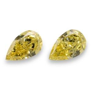 Камень без оправы, бриллиант Цвет: Желтый, Вес: 4.28 карат