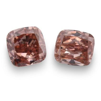 Камень без оправы, бриллиант Цвет: Розовый, Вес: 1.33 карат