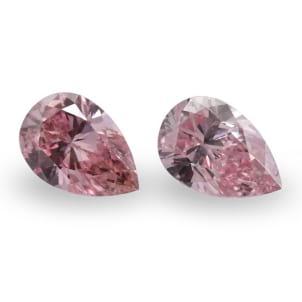 Камень без оправы, бриллиант Цвет: Розовый, Вес: 0.41 карат