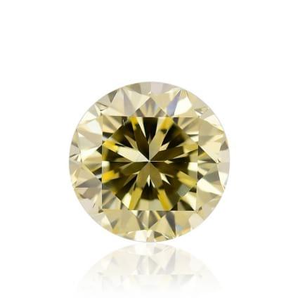 Камень без оправы, бриллиант Цвет: Желтый, Вес: 0.69 карат