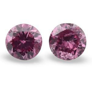 Камень без оправы, бриллиант Цвет: Розовый, Вес: 0.24 карат