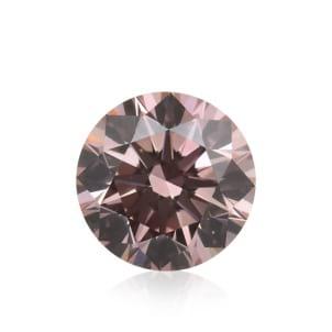 Камень без оправы, бриллиант Цвет: Розовый, Вес: 0.33 карат