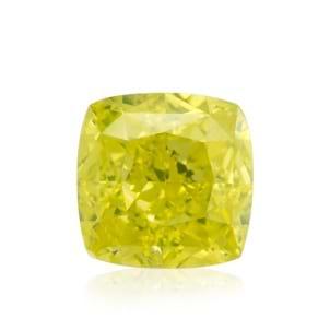 Камень без оправы, бриллиант Цвет: Желтый, Вес: 0.30 карат