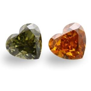 Камень без оправы, бриллиант Цвет: Микс, Вес: 1.37 карат