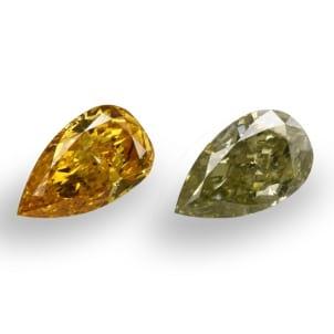 Камень без оправы, бриллиант Цвет: Микс, Вес: 2.10 карат
