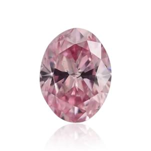 Камень без оправы, бриллиант Цвет: Розовый, Вес: 0.38 карат