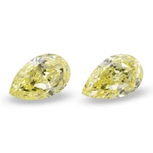 Камень без оправы, бриллиант Цвет: Желтый, Вес: 2.15 карат