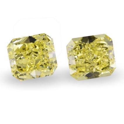 Камень без оправы, бриллиант Цвет: Желтый, Вес: 6.05 карат