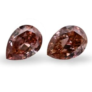 Камень без оправы, бриллиант Цвет: Розовый, Вес: 0.86 карат