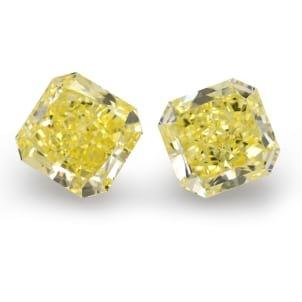 Камень без оправы, бриллиант Цвет: Желтый, Вес: 12.34 карат