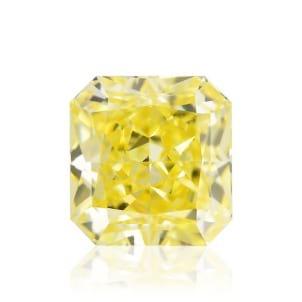 Камень без оправы, бриллиант Цвет: Желтый, Вес: 1.35 карат