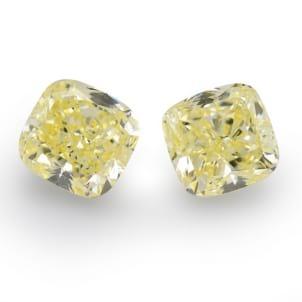 Камень без оправы, бриллиант Цвет: Желтый, Вес: 14.71 карат