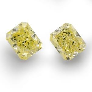Камень без оправы, бриллиант Цвет: Желтый, Вес: 2.73 карат