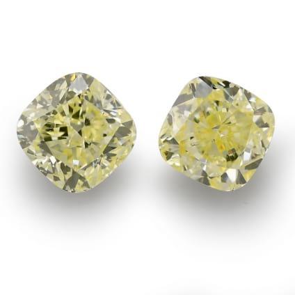 Камень без оправы, бриллиант Цвет: Желтый, Вес: 3.30 карат
