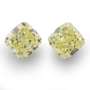 Камень без оправы, бриллиант Цвет: Желтый, Вес: 6.26 карат