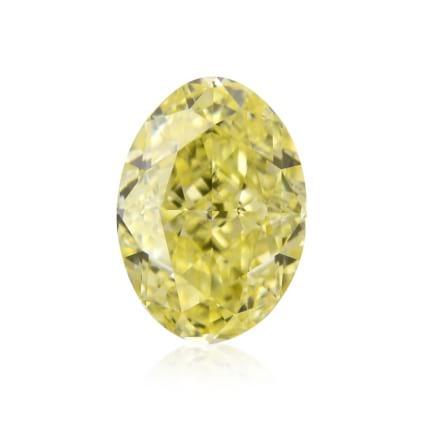 Камень без оправы, бриллиант Цвет: Желтый, Вес: 0.56 карат