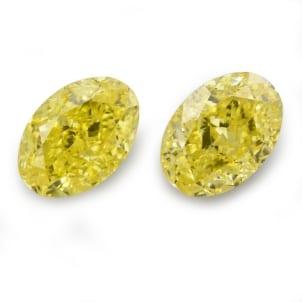 Камень без оправы, бриллиант Цвет: Желтый, Вес: 1.43 карат