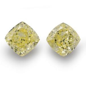 Камень без оправы, бриллиант Цвет: Желтый, Вес: 10.67 карат