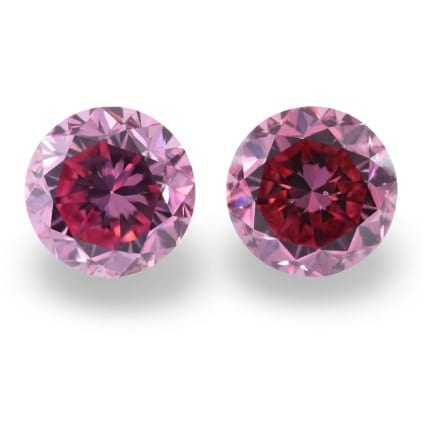 Камень без оправы, бриллиант Цвет: Розовый, Вес: 0.63 карат