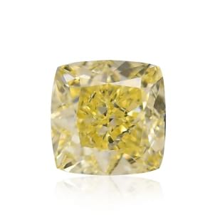 Камень без оправы, бриллиант Цвет: Желтый, Вес: 1.41 карат