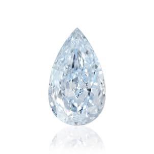 Камень без оправы, бриллиант Цвет: Голубой, Вес: 2.30 карат