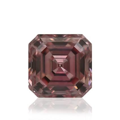 Камень без оправы, бриллиант Цвет: Розовый, Вес: 0.30 карат