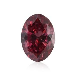 Камень без оправы, бриллиант Цвет: Красный, Вес: 0.23 карат