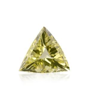 Камень без оправы, бриллиант Цвет: Желтый, Вес: 2.24 карат