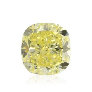 Камень без оправы, бриллиант Цвет: Желтый, Вес: 4.01 карат
