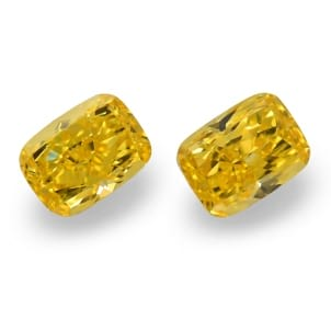 Камень без оправы, бриллиант Цвет: Желтый, Вес: 4.03 карат