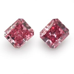 Камень без оправы, бриллиант Цвет: Розовый, Вес: 1.06 карат