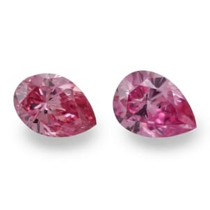 Камень без оправы, бриллиант Цвет: Розовый, Вес: 0.89 карат