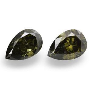 Камень без оправы, бриллиант Цвет: Хамелеон, Вес: 2.07 карат